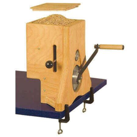 Moulin à céréales Hawos Manuel Rotare