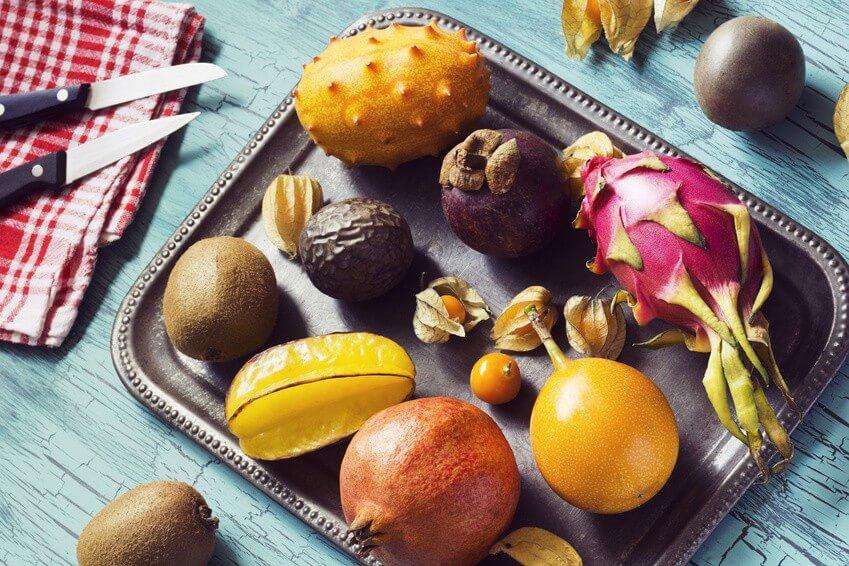 3 fruits exotiques aussi délicieux que bons pour la santé