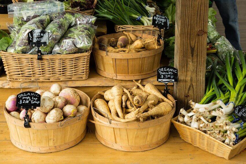 Découvrez le calendrier des fruits et légumes du mois de mars
