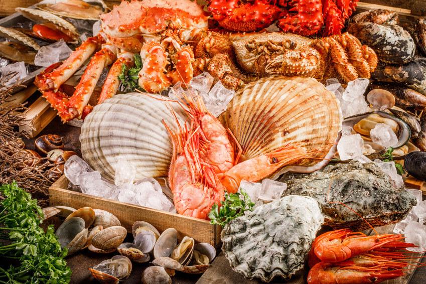 Faites le plein de fruits de mer pour une santé de fer