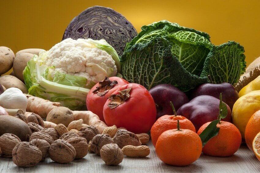 Au calendrier en janvier : des fruits et légumes au menu!