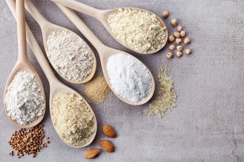 6 farines indispensables pour cuisiner sans gluten