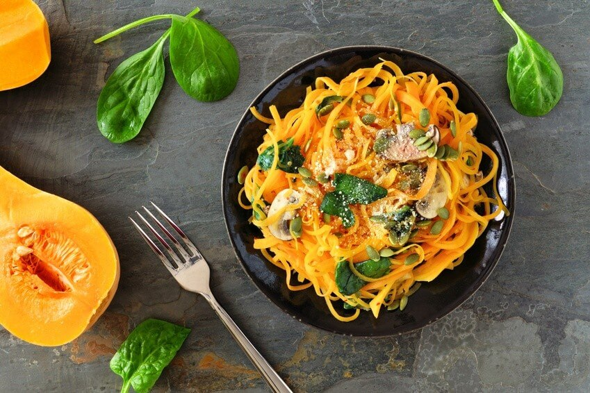 La courge spaghetti, un allié santé en automne
