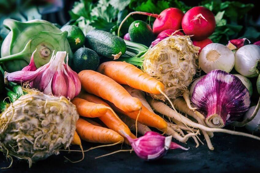 En avril, découvrez les fruits et légumes au calendrier