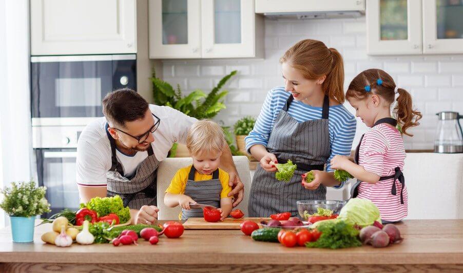Conseil de Bastien : des fruits et légumes pour les enfants