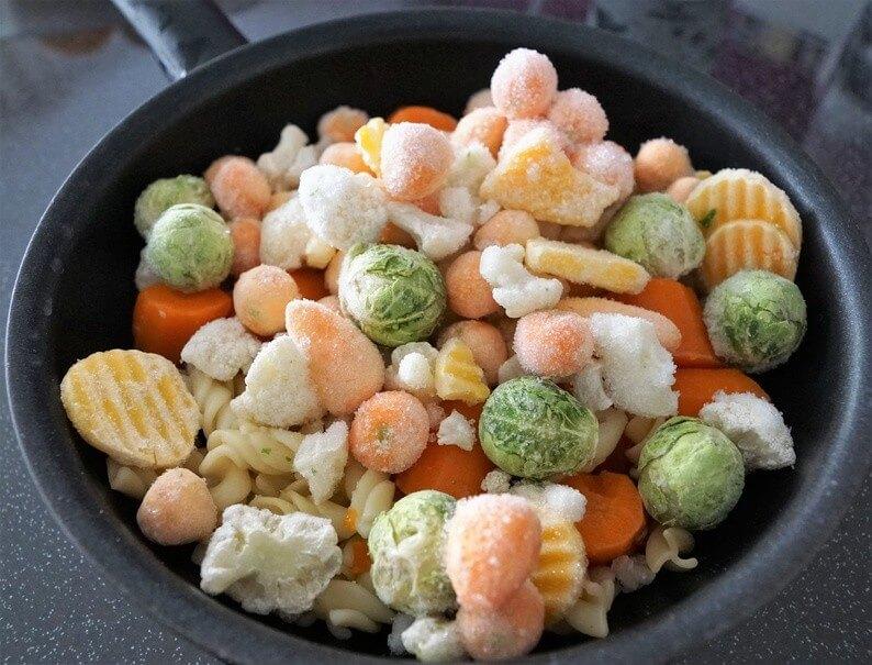 Conseil de Bastien : légumes surgelés non BIO, à éviter!
