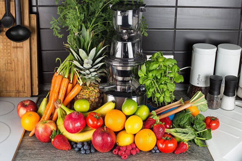 Les fruits et légumes qui peuvent coincer dans l'extracteur