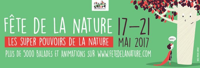 17-21 mai, la Fête de la nature dévoile ses super pouvoirs