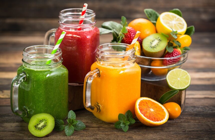 Discover three healthy fruit and vegetable juices