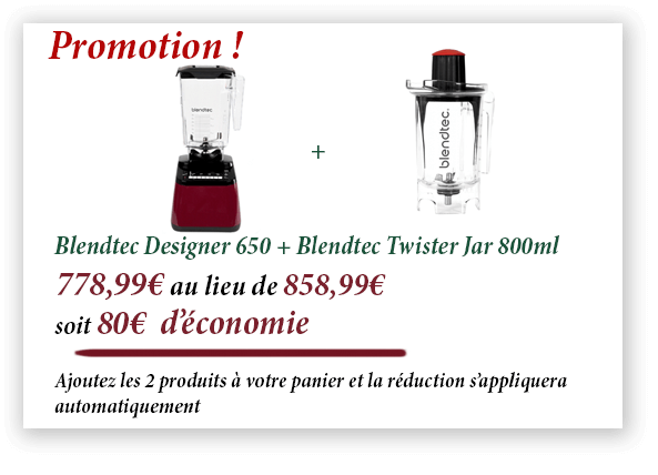 Promotion Blendtec Designer 650