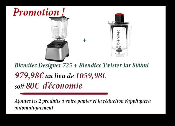 Promotion Blendtec Designer 725