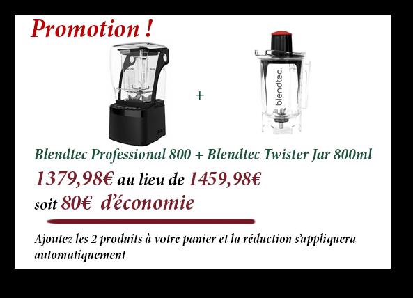 Promotion Blendtec Professional 800