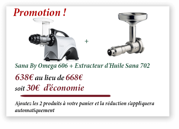 Promotion Sana By Omega 606