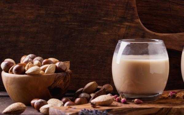 Recette du lait de noisette à l'extracteur de jus Angel 7500