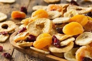 recettes fruits déshydratés
